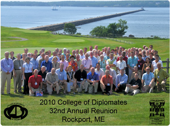 2010 College Of Diplomates Dr. Shafer